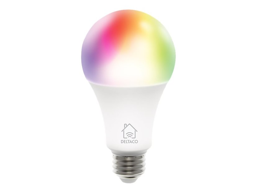 Deltaco Smart Home LED-lampa RGB
