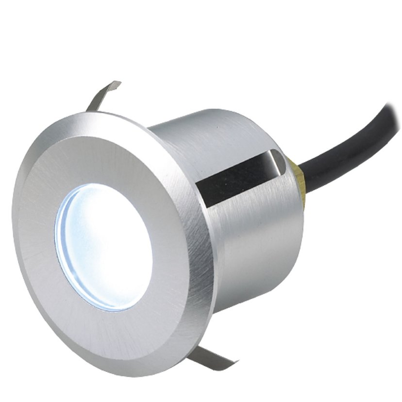 LightsOn Terra Infälld Armatur Aluminium