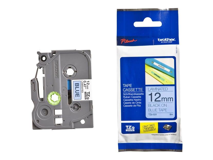 Brother Tape TZe-531 12mm Black/Blue