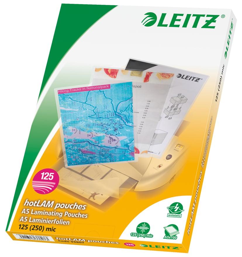 Leitz Lamineringsficka 125mic A5 100st