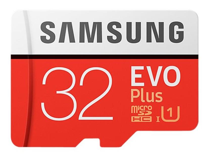 Samsung Evo Plus 32GB microSDHC UHS-I Memory Card