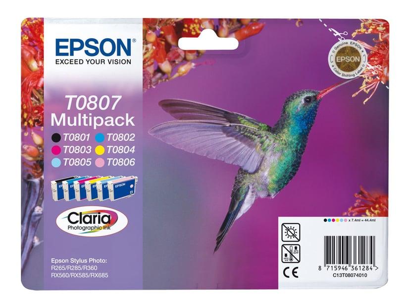 Epson Blæk Multipak T0801/2/3/4/5/6 - R265