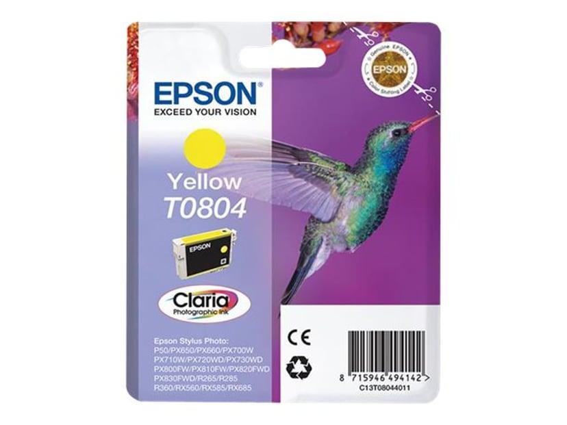 Epson Bläck Gul T0804 - R265/360/RX560