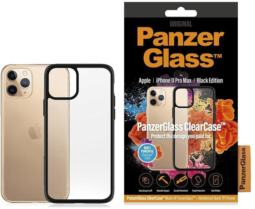 Panzerglass Clearcase BlackFrame iPhone 11 Pro Max Zwart