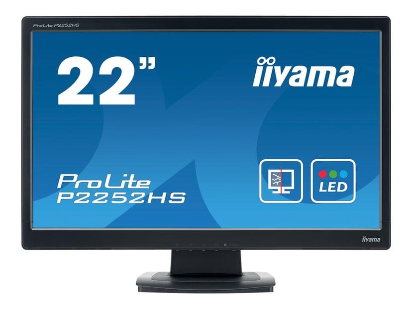 "Iiyama ProLite P2252HS-B1 22"" 1920 x 1080 16:9"