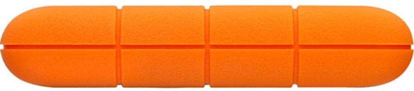 LaCie Rugged Mini 1TB Orange, Silver