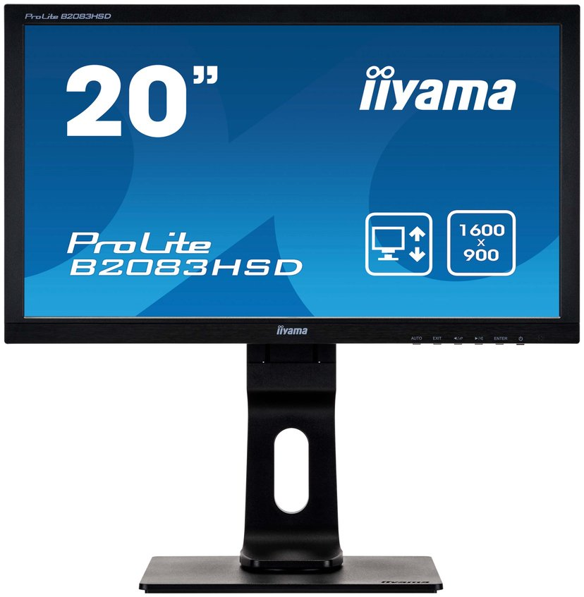 "Iiyama ProLite B2083HSD-1 20"" 1600 x 900 16:9"