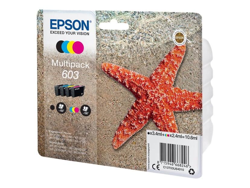 Epson Blekk Multipack 4-Color 603