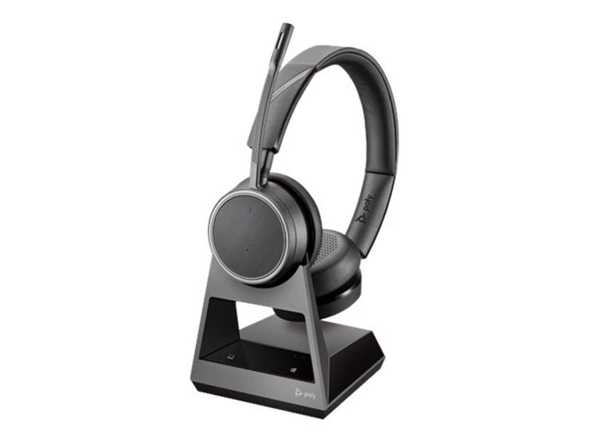 Poly Poly Voyager 4220 Office, 2-Way Base, USB-A Grå, Svart