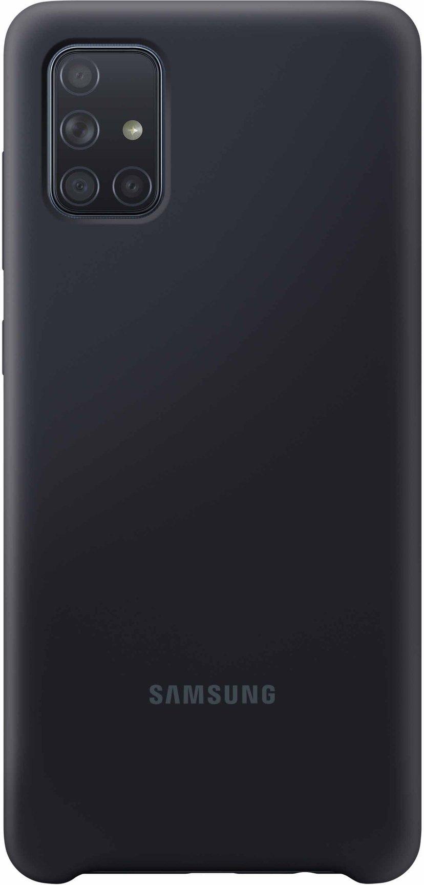 Samsung Soft Touch Cover EF-PA715 Samsung Galaxy A71 Svart