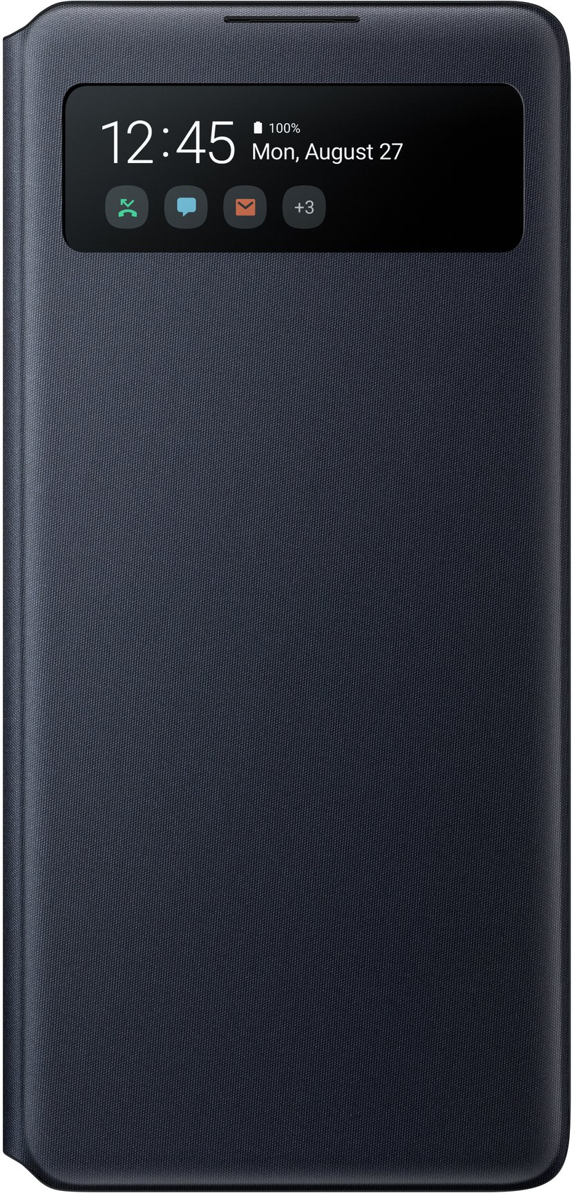 Samsung Galaxy S10 Lite S-View Wallet Cover Black Samsung Galaxy S10 Lite Svart