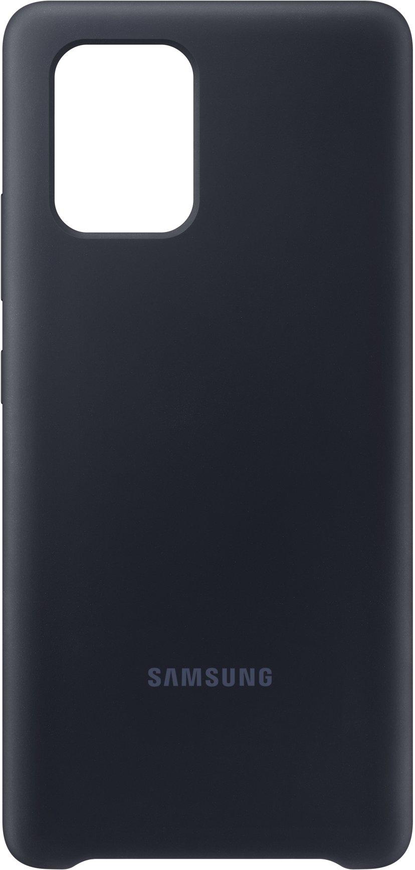 Samsung Galaxy S10 Lite Silicone Cover Black Samsung Galaxy S10 Lite Svart