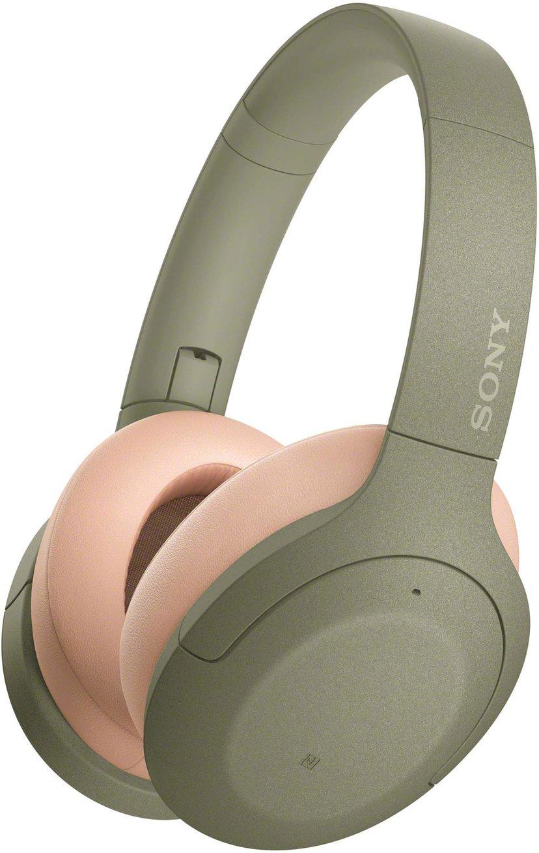 Sony h.ear on 3 WH-H910N trådlösa hörlurar med mikrofon Grön