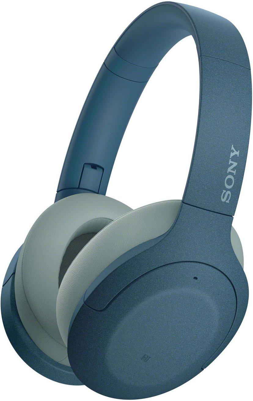 Sony h.ear on 3 WH-H910N trådlösa hörlurar med mikrofon Blå