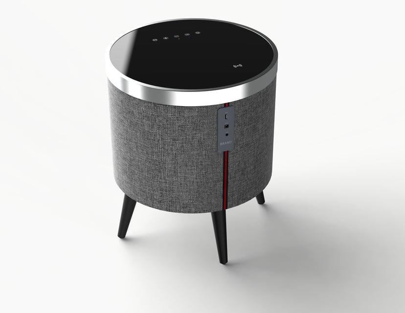Sinox SXBT3501 Bluetooth-højtaler og bord med trådløs opladning