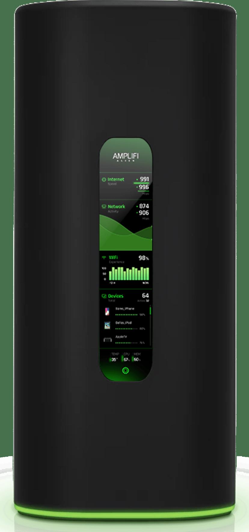 Ubiquiti AmpliFi Alien WiFi 6 Mesh Router