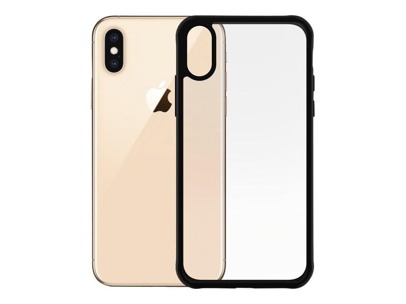 Panzerglass Clearcase BlackFrame iPhone X; iPhone Xs CrystalClear; Svart