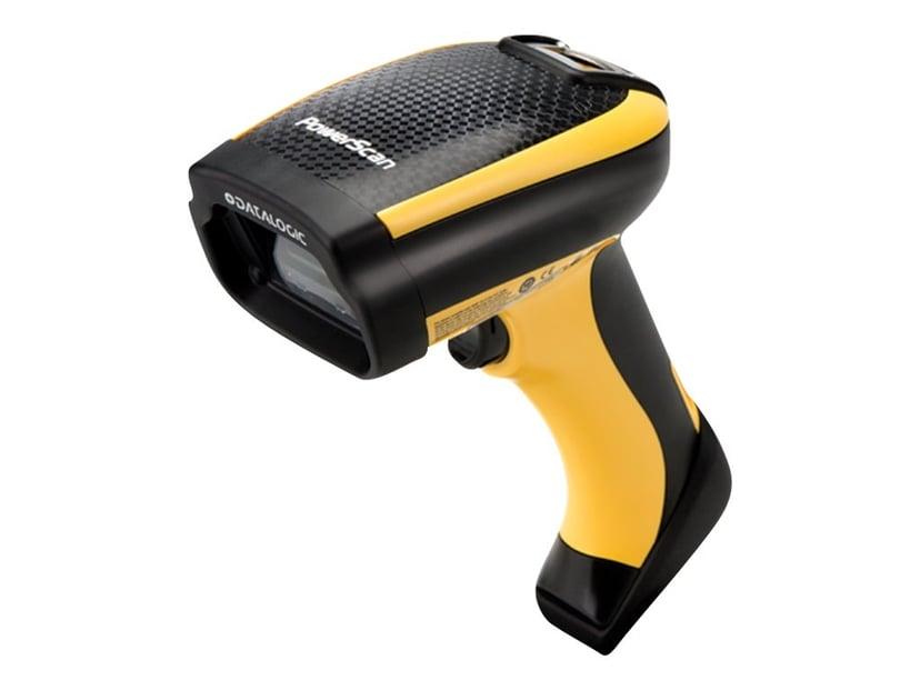 Datalogic PowerScan PM9501 SR USB-Kit 433MHz Skanner/Basestasjon/Strømadapter / EU strømledning