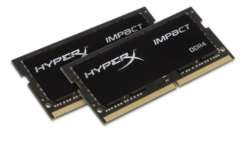 Kingston Hyperx Impact 64GB 2,666MHz DDR4 SDRAM SO DIMM 260-pin