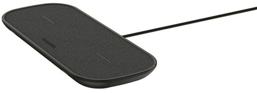 Mophie dual wireless charging pad Svart
