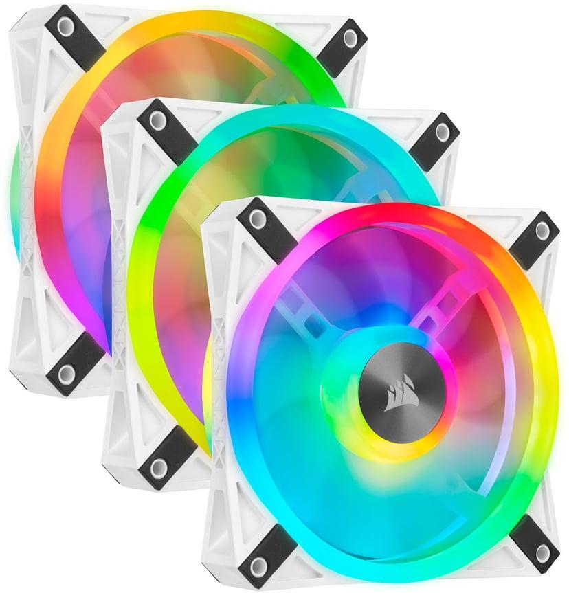 Corsair Ql120 RGB White Triple Pack 120 mm