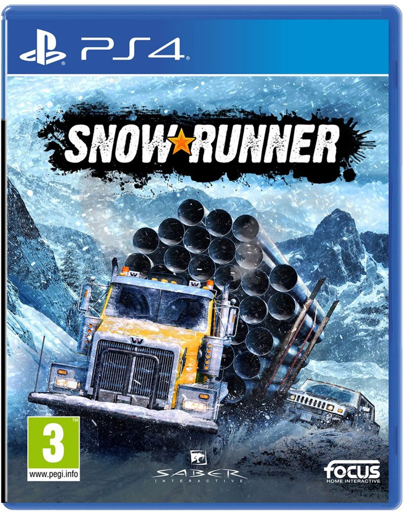 Focus Home Interactive Snowrunner Sony PlayStation 4