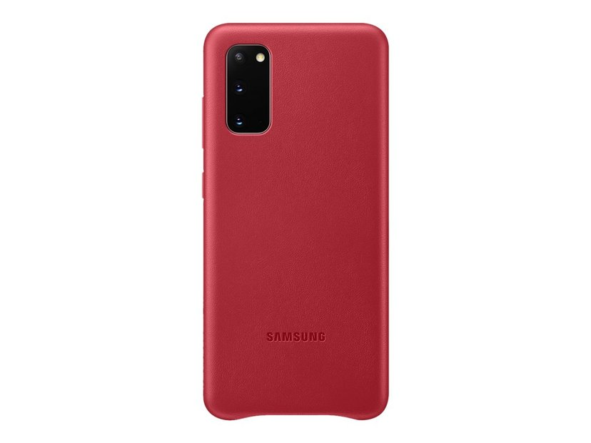 Samsung Leather Cover EF-VG980 Rood