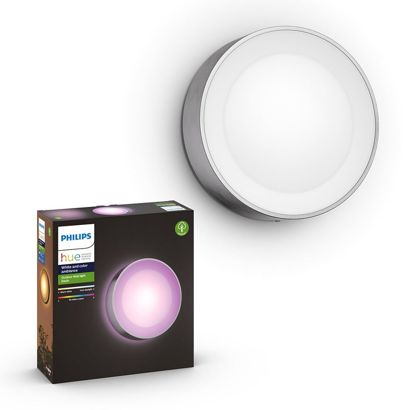 Philips Hue Outdoor Daylo Wall Lantern 1X15w 24V, Inox