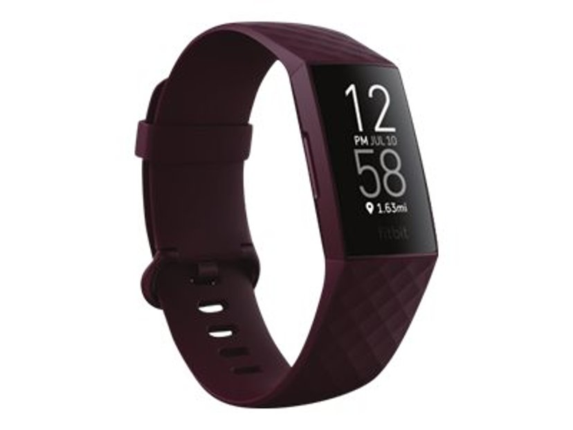 Fitbit Charge 4 Aktivitetspårare Rosenträ
