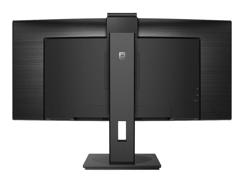 "Philips P-Line 346P1CRH 34"" QHD USB-C Docking (Popup Webcam) 34"" 3440 x 1440 21:9"