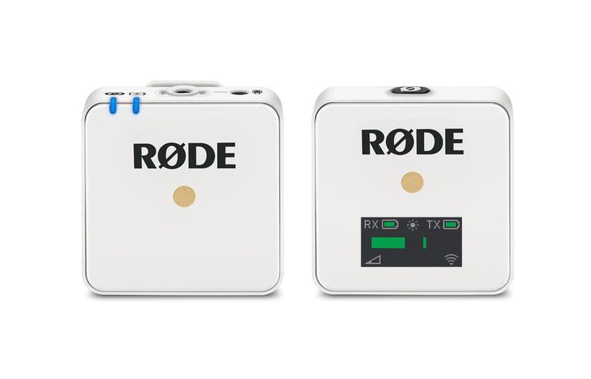 Røde Wireless GO Trådlöst Mikrofonsystem Vit