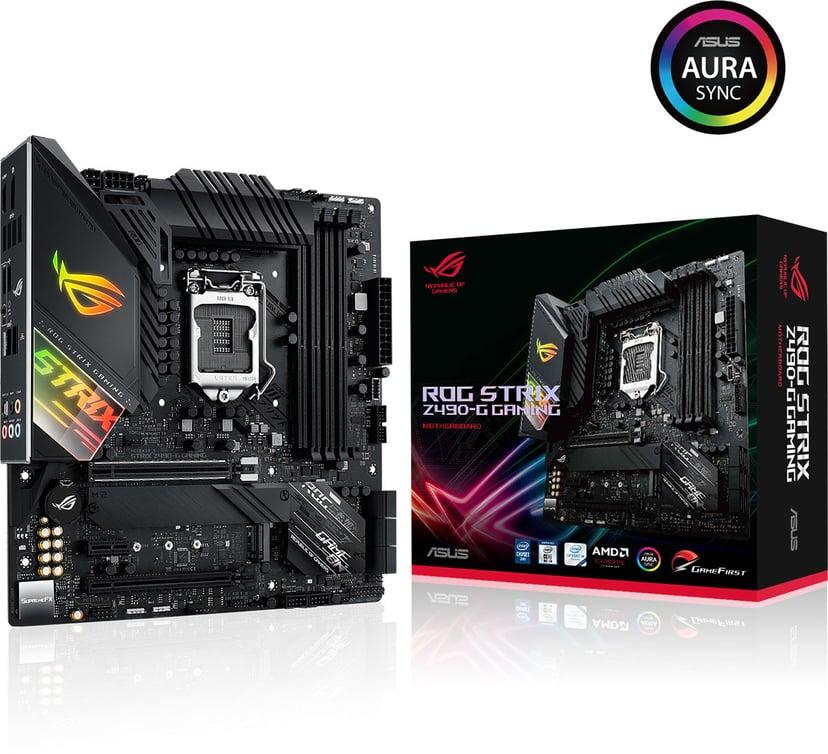 ASUS ROG STRIX Z490-G GAMING Micro-ATX Bundkort