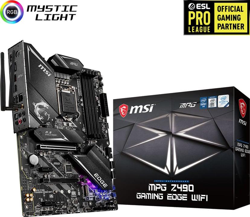 MSI MPG Z490 GAMING EDGE WIFI ATX Moederbord