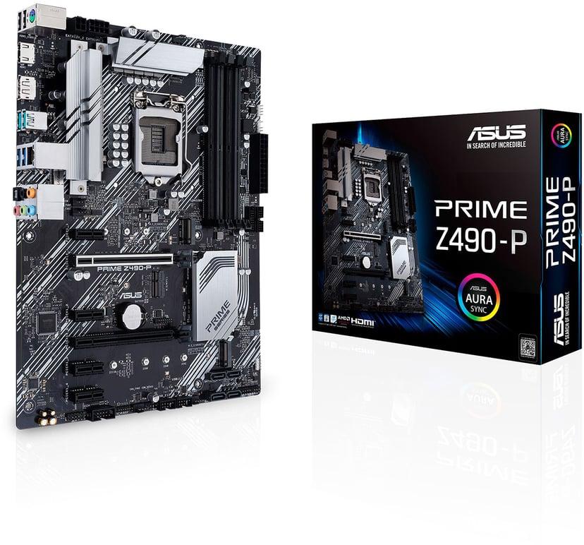 ASUS PRIME Z490-P ATX Moderkort
