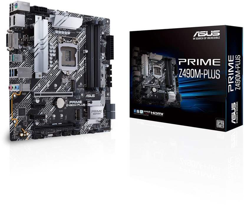 ASUS PRIME Z490M-PLUS Mikro ATX Hovedkort