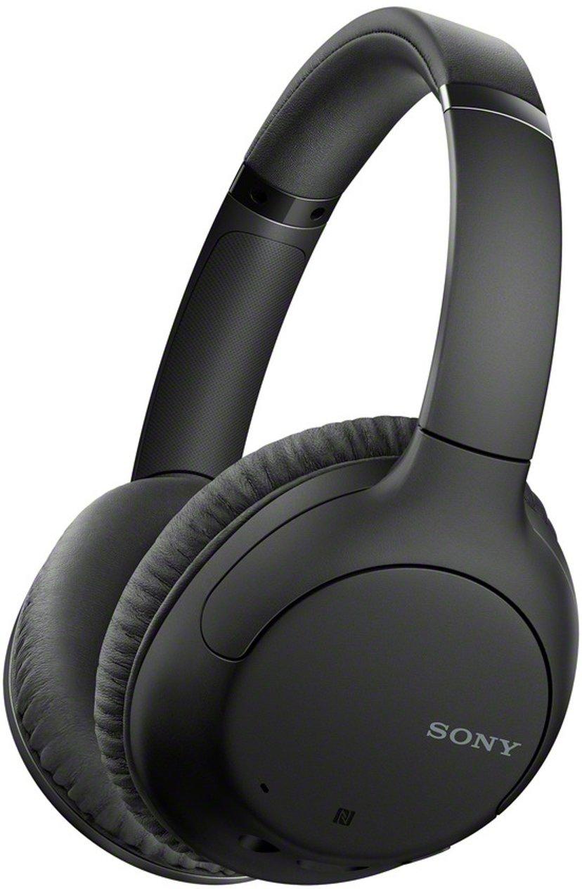 Sony WH-CH710N trådløse hodetelefoner med mikrofon Svart