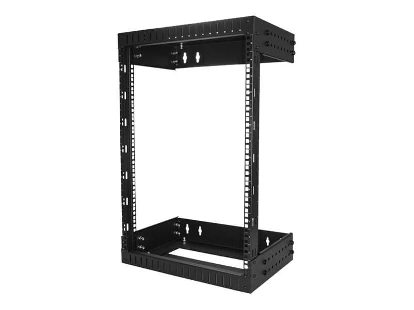 "Startech 15U 19"" Wall Mount Rack Open Frame Black"