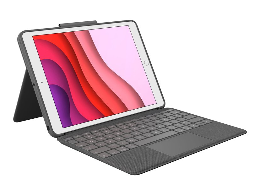 Logitech Combo Touch For Ipad 7Th Gen 2019