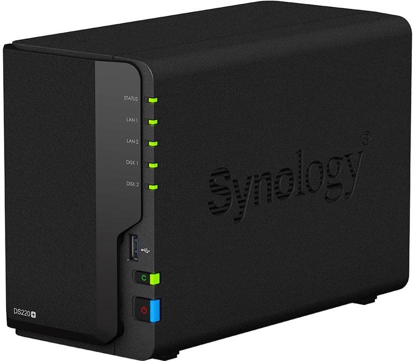 Synology Disk Station DS220+ 0Tt NAS-palvelin