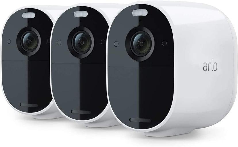 Arlo Essential Spotlight Camera White 3-Pack