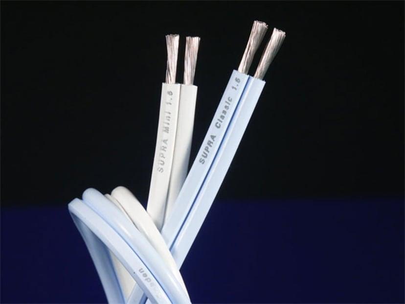 Jenving CLASSIC 1.6 SPEAKER CABLE 10m Uisoleret ledning Uisoleret ledning