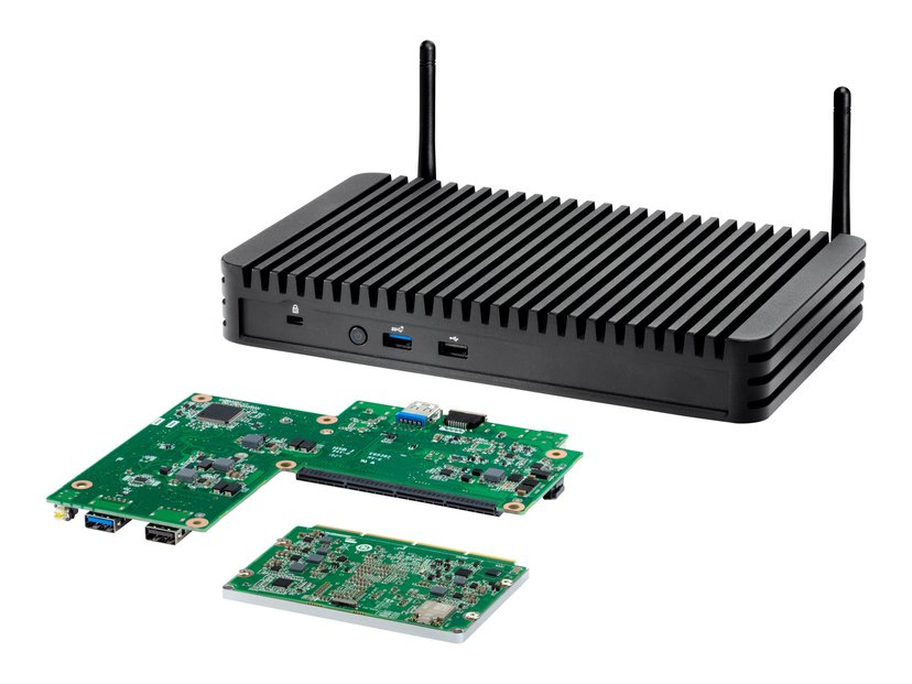 Intel Next Unit of Computing Kit Rugged Chassis Element
