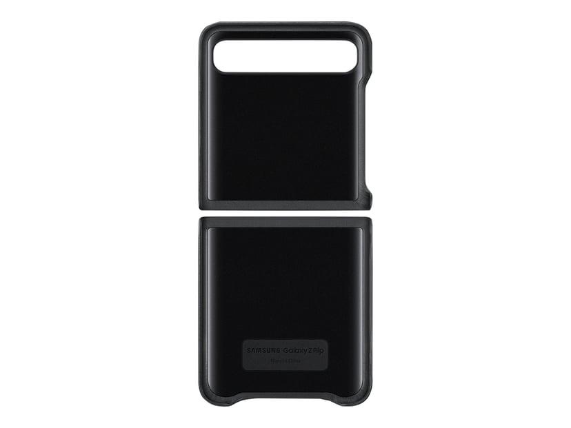 Samsung Leather Cover EF-VF700 Samsung Galaxy Z Flip Svart
