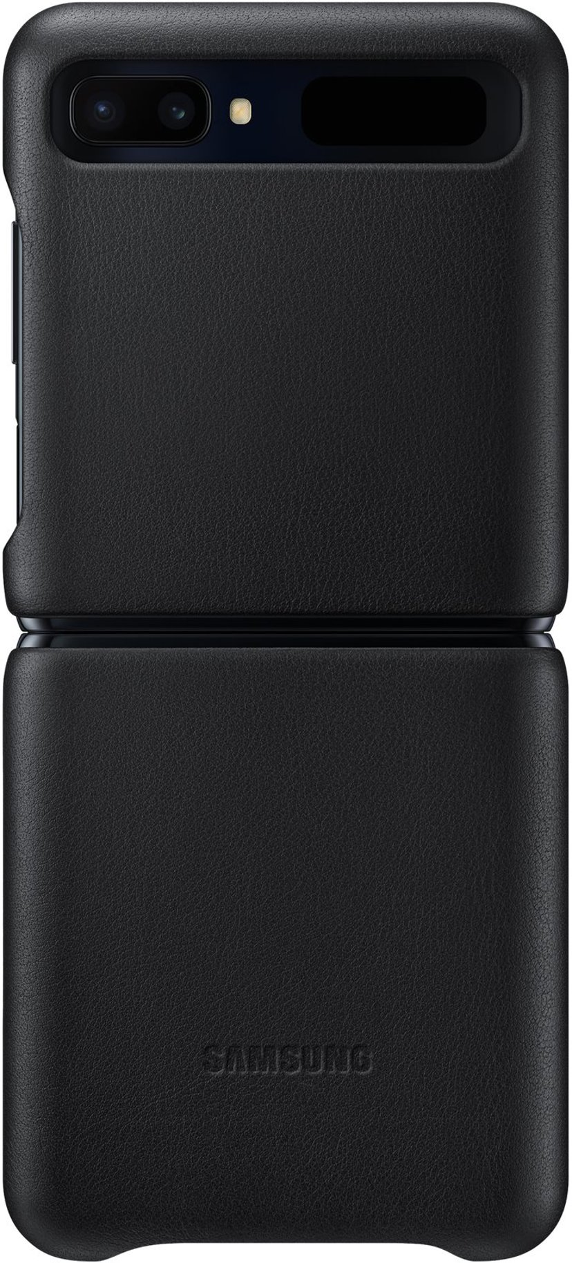 Samsung Leather Cover EF-VF700 Samsung Galaxy Z Flip Svart