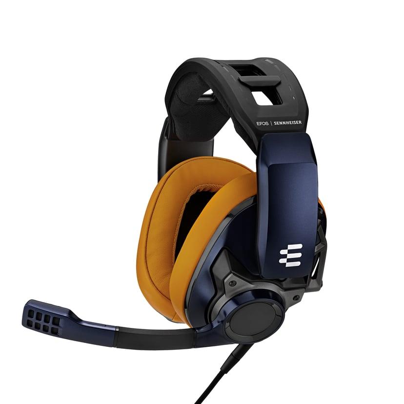 EPOS GSP 602 headset med sluten akustik Blå, Brun, Svart