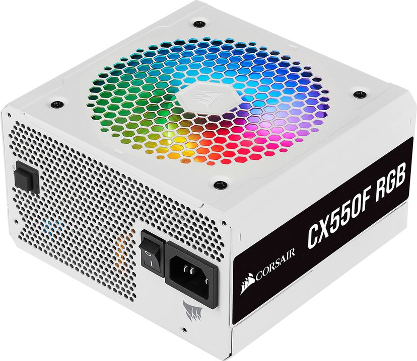 Corsair CX-F Series CX550F RGB White 550W 80 PLUS Bronze