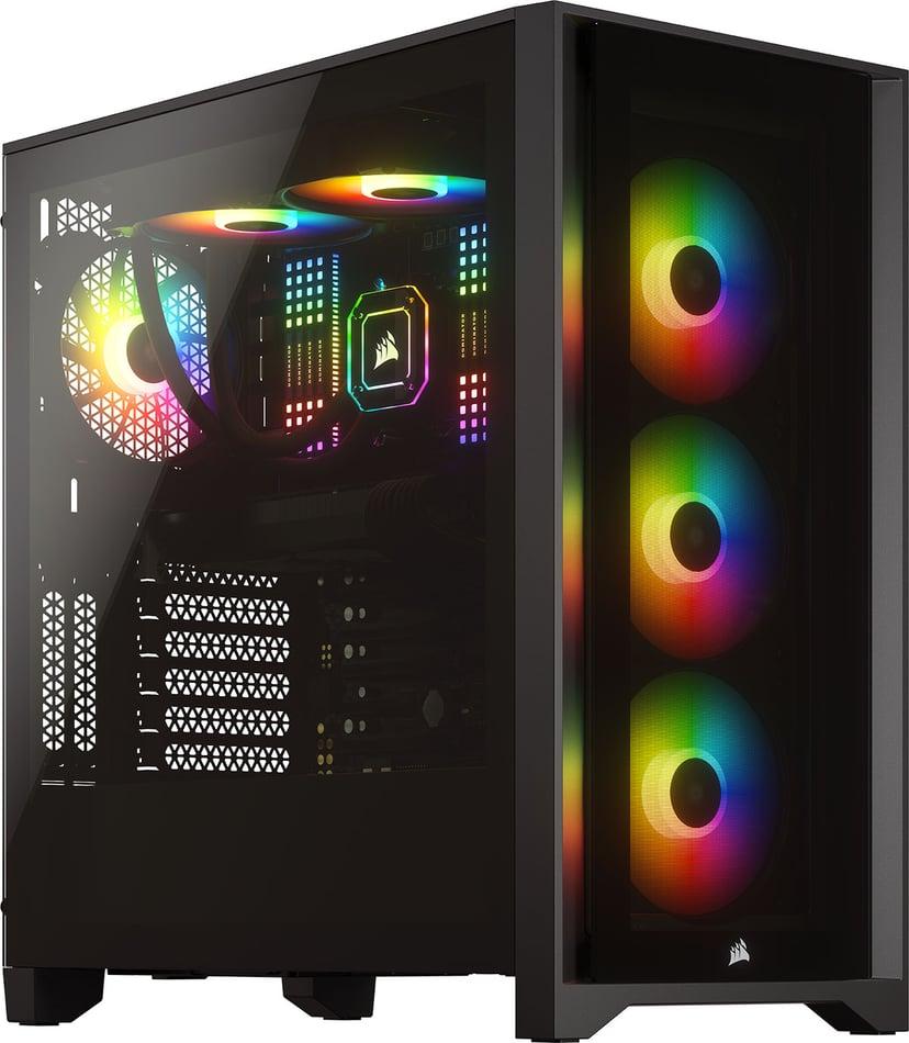 Corsair iCUE 4000X RGB Svart