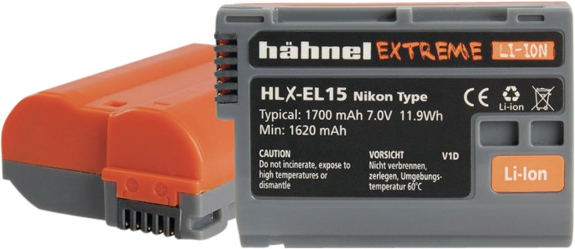 Hähnel Nikon HLX-EL15HP Extreme Battery