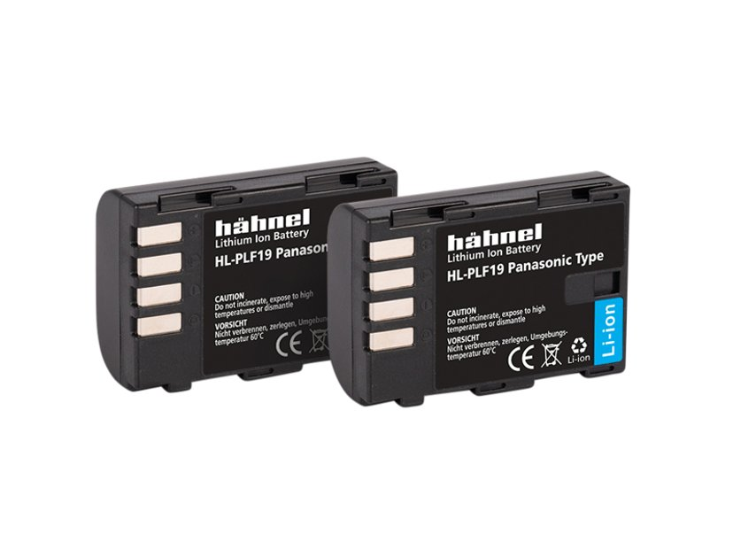 Hähnel Panasonic HL-PLF19 Batteri Twin Pack