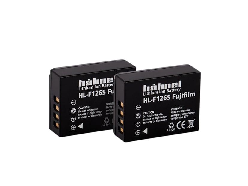 Hähnel Fuji HL-F126S Twin Pack Batteri